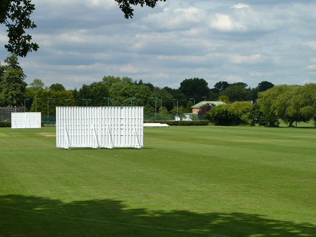 Cricket field, Park Langley