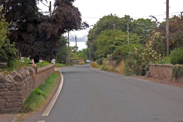 B3139 towards Yarley