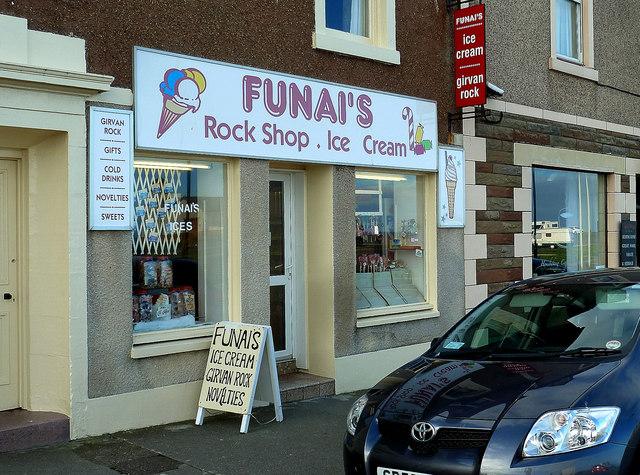 Funai's Ice Cream Shop