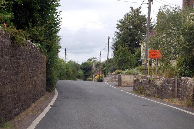 B3139 towards Henton