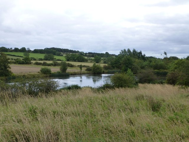 Pond below Whinny Hill