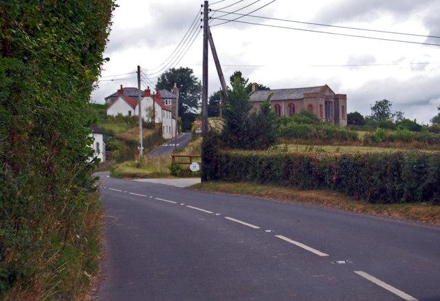 B3139 towards Theale