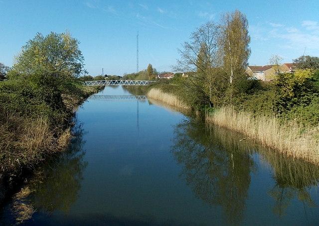 Blind Yeo footbridge, Clevedon
