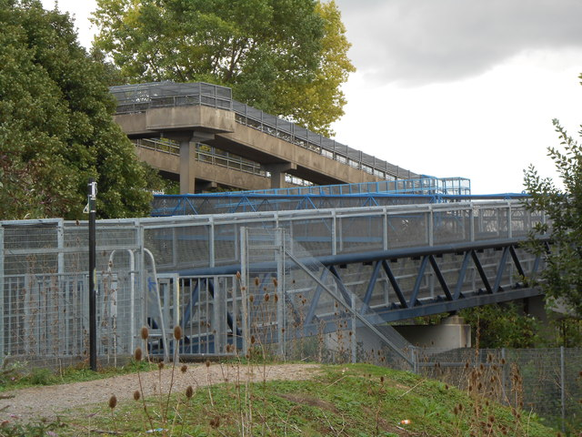 A Zig-Zag Footbridge, Northfleet