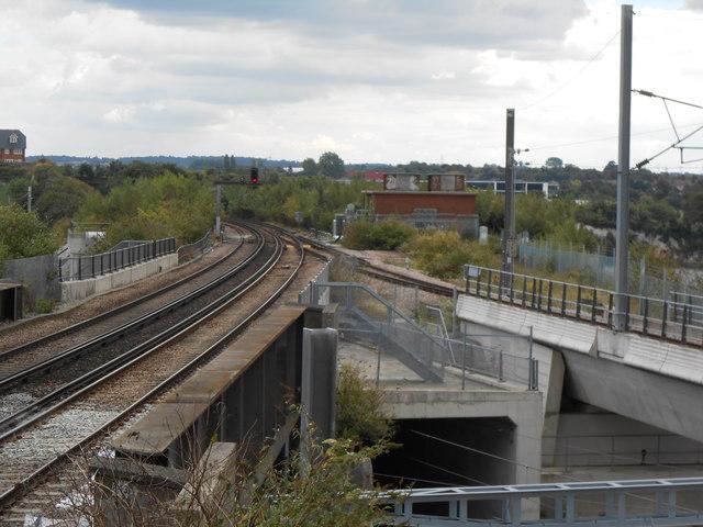 Railway Junction, Northfleet