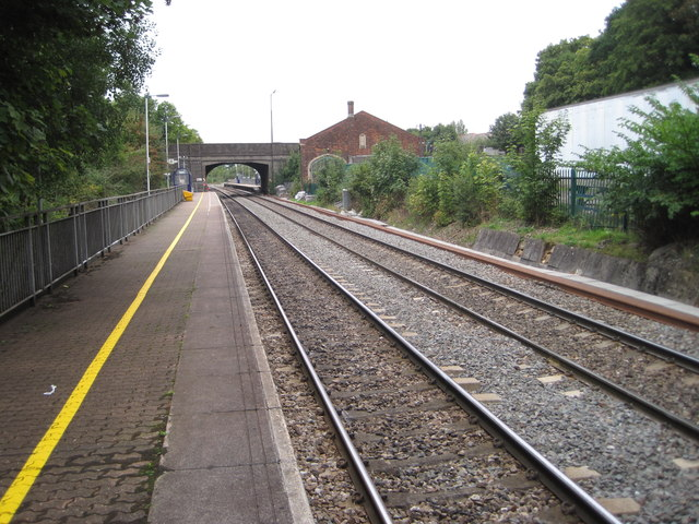 Yate railway station, Gloucestershire