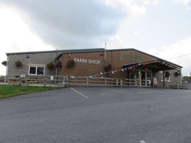 Cwmcerrig Farm Shop, near Gorslas