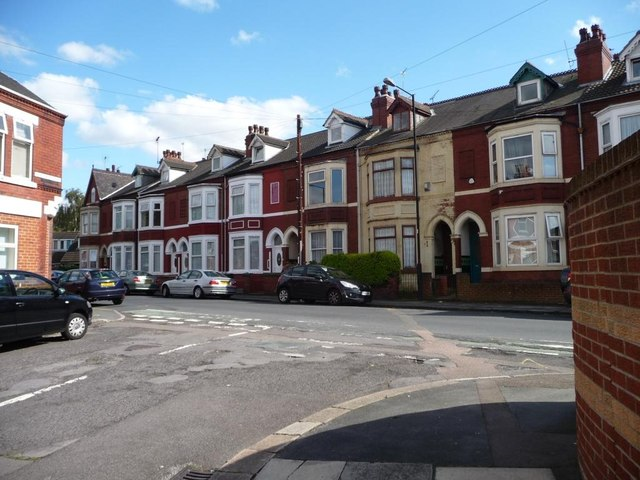 Houses, south-east side of Highfield Road, Doncaster