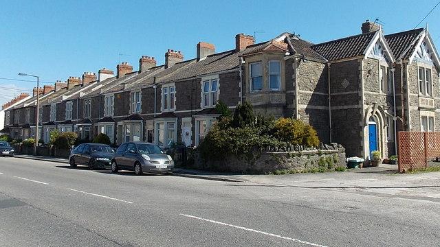 Kenn Road houses, Clevedon