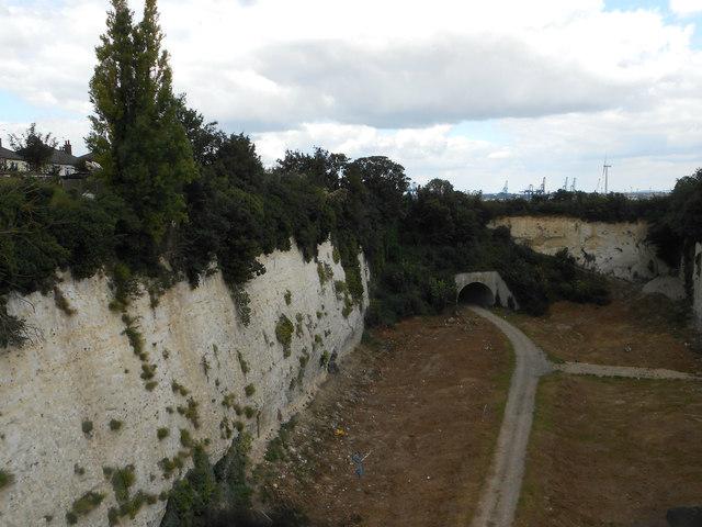 Chalk Quarry, Northfleet