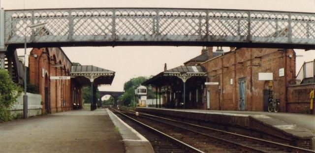 Melton Mowbray Railway Station 169 Nigel Thompson Cc By