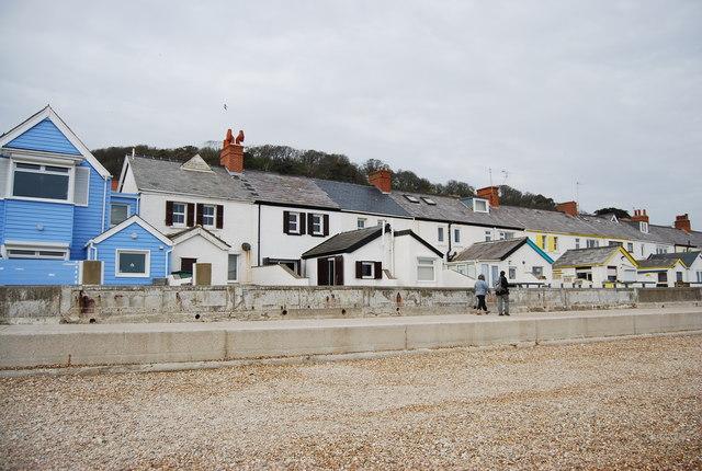 Seafront houses, Sandgate
