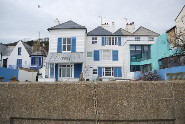 Seafront houses, Sandgate