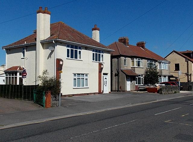 White house, Kenn Road, Clevedon