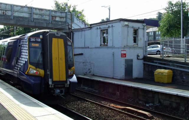 Woodhall railway station
