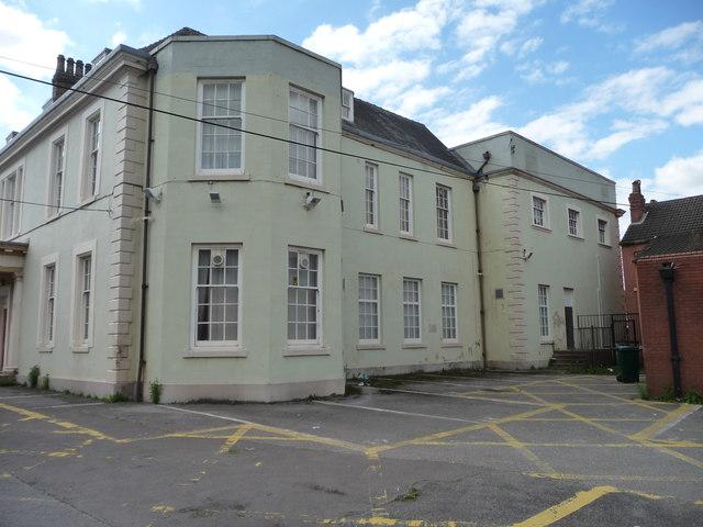East side, Nether Hall