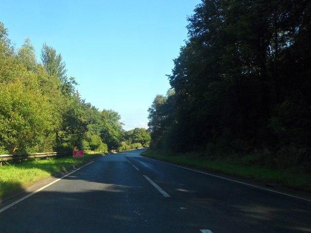 A78 north of Wemyss Bay