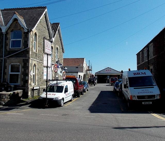 BRM vans and premises, Clevedon