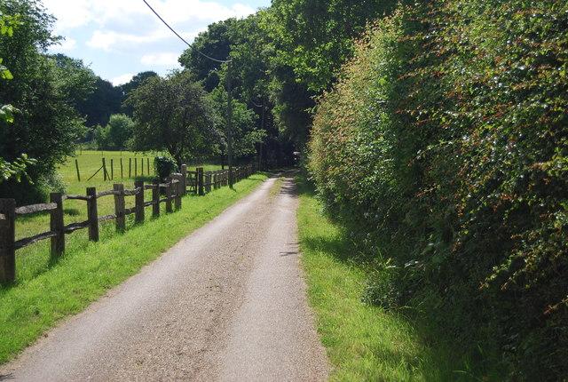 Footpath to Little Brookstreet
