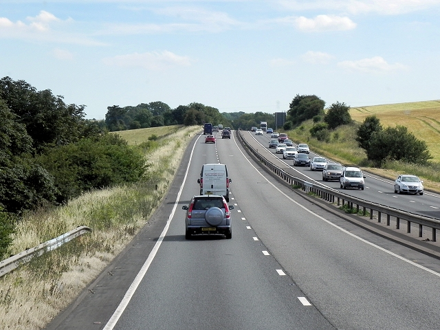 Southbound A34