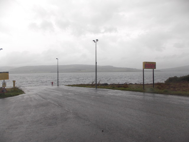 Fishnish: the ferry slipway