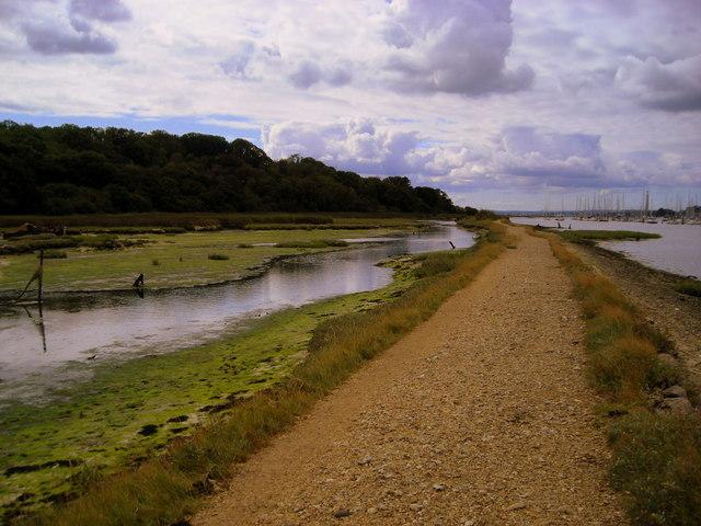 The Bunny Meadows footpath