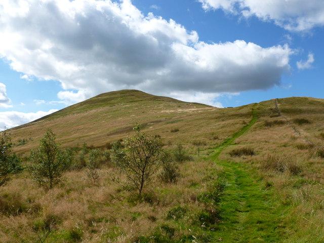 Path up Seamab Hill