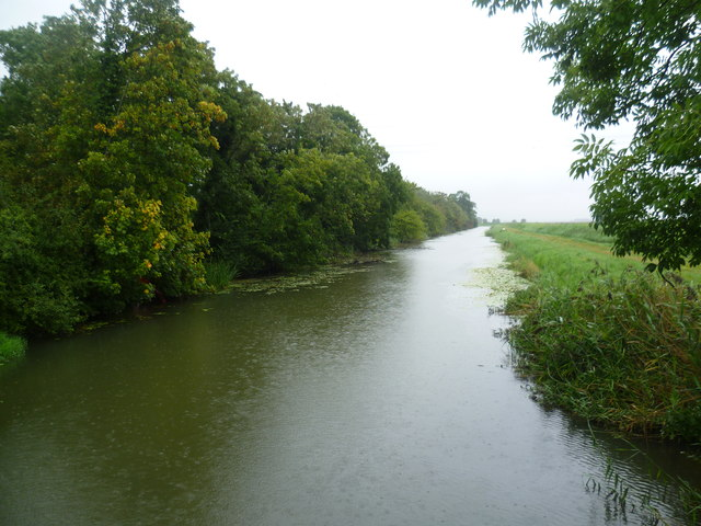 The Royal Military Canal above Iden Lock