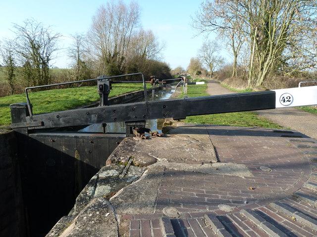 Stratford-upon-Avon Canal - Lock No. 42