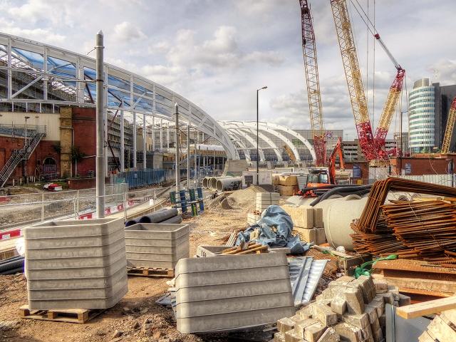 Manchester Victoria Station Redevelopment (August 2014)