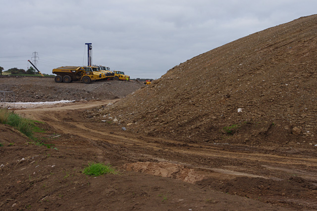 Earthworks for Heysham to M6 link road