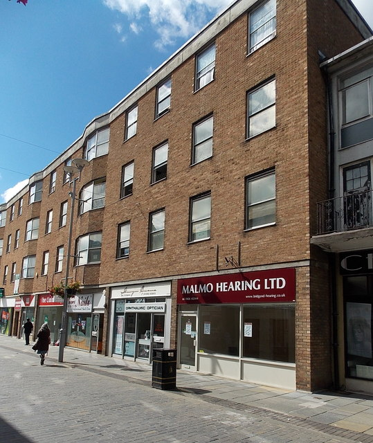 Former Malmo Hearing premises in Wyndham Street, Bridgend