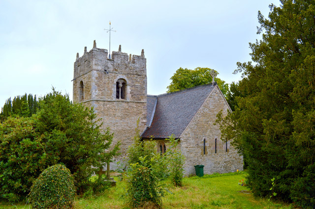 St Edith, Eaton under Heywood