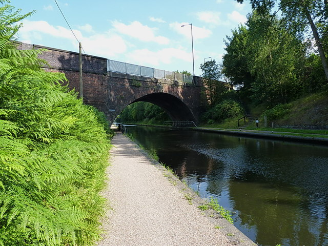 Winson Green Road bridge over the Birmingham Canal