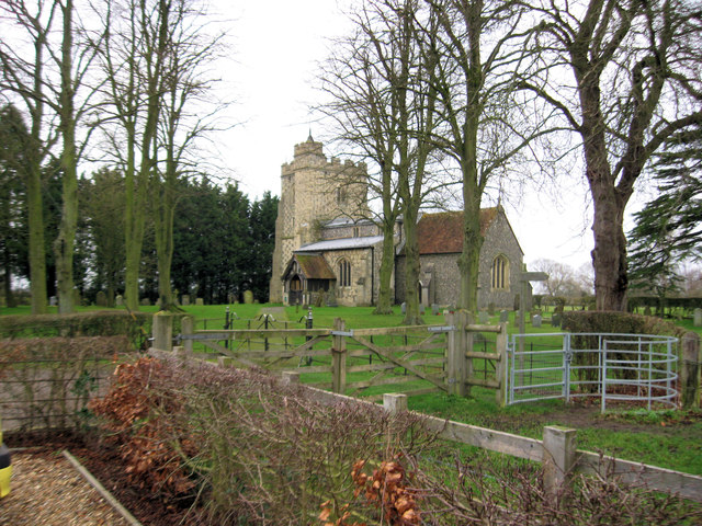 Puttenham Church from Car park