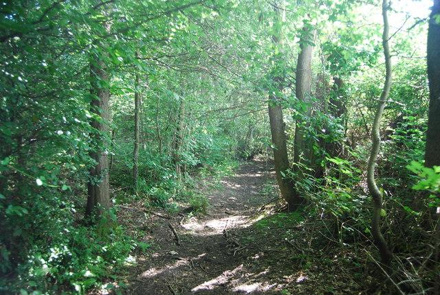 Footpath to Howlets Farm