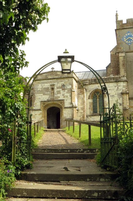 The path to St Mary the Virgin church
