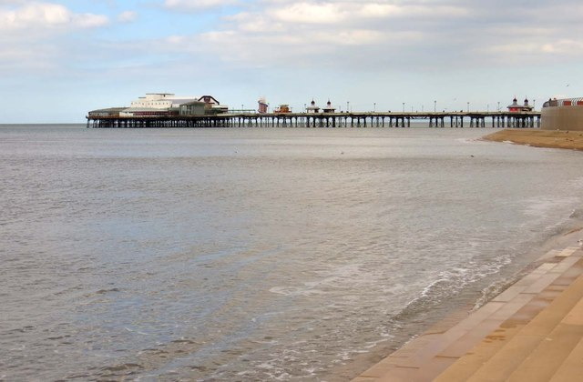 The North Pier in Blackpool