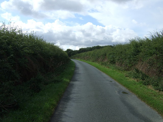 Rural road towards Boynton