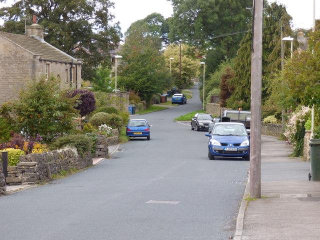 Embsay: Brackenley Lane, looking west