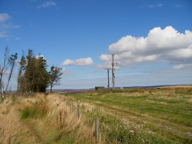 Electrical sub station near Saltergate brow