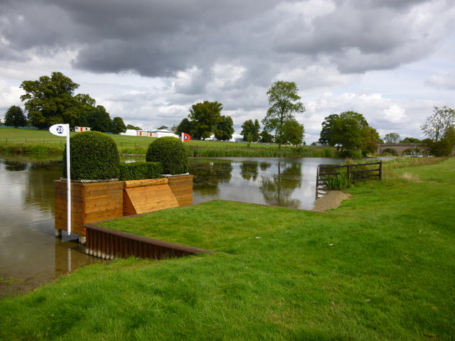 Fence 28 - The Anniversary Splash at Burghley 2014