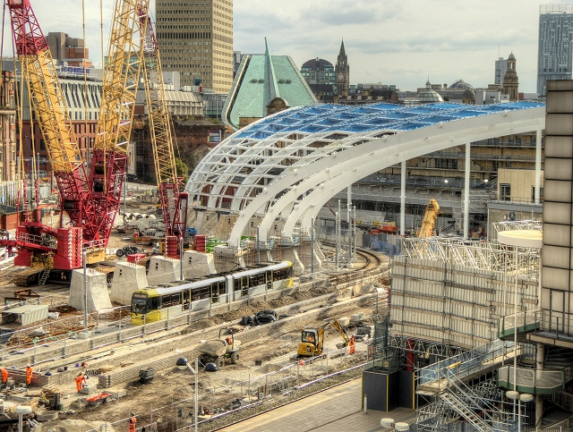 Manchester Victoria Station, August 2014