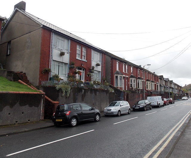 King Edward Street houses, Blaengarw