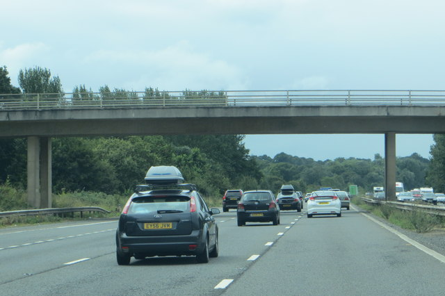 Along the M5