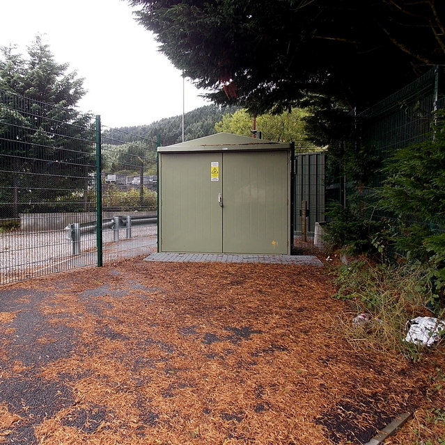 Pontycymmer Export Generator electricity substation