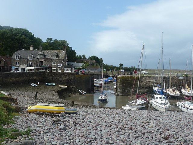 Porlock Weir - Lock and tidal pond