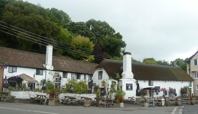 Porlock Weir - Ship Inn and restaurant