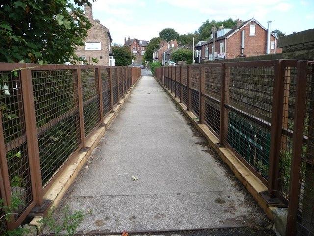 Railway footbridge, Mill Lane, Treeton