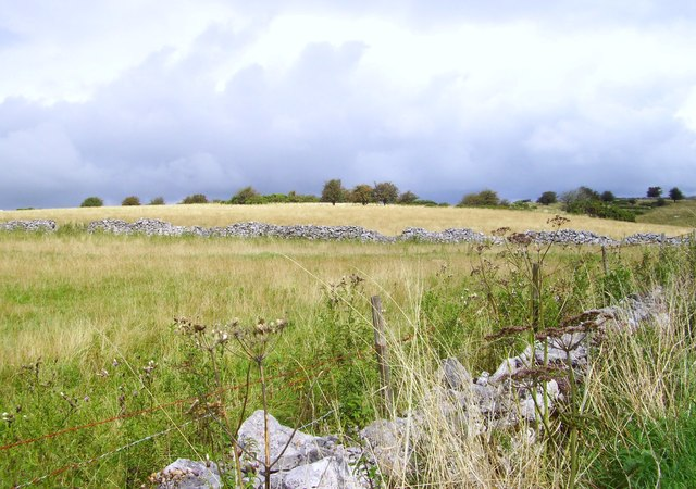 Fields on Westbury Beacon